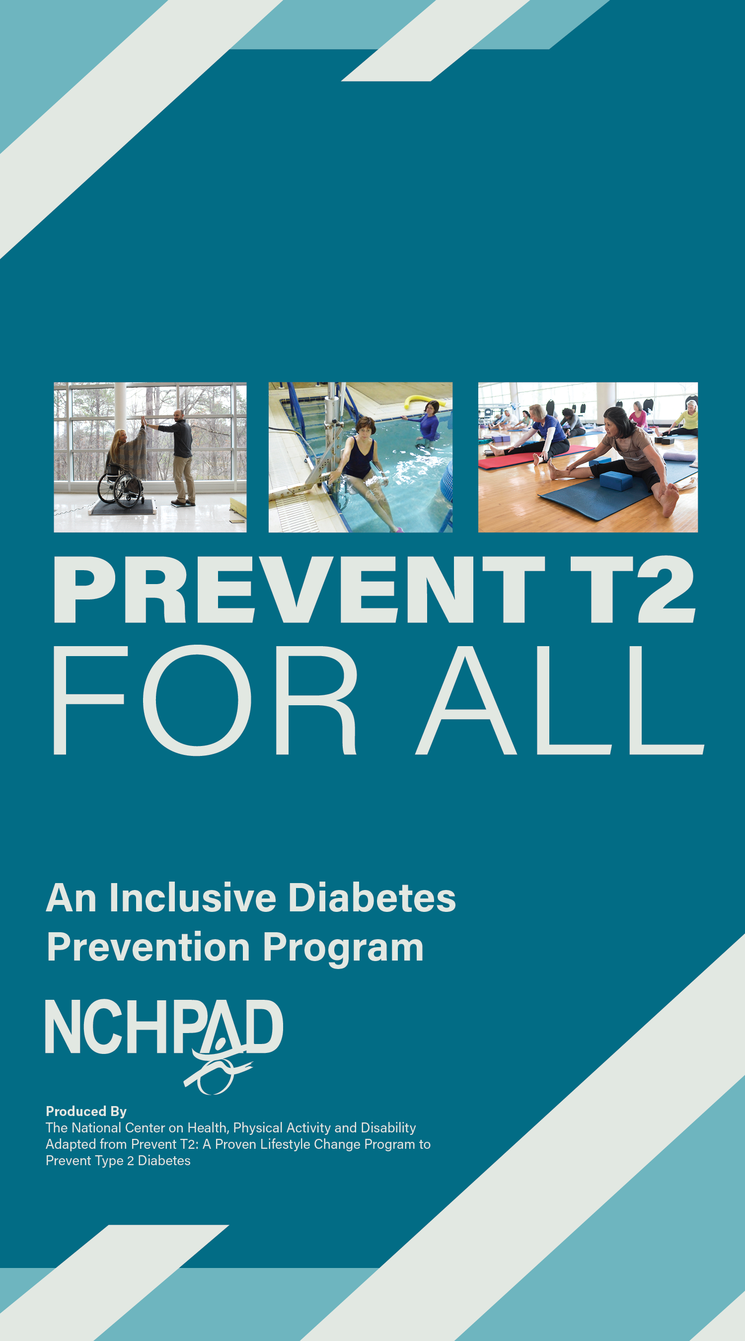Graphicly designed image that states Prevent T2 for All. An Inclusive Diabetes prevention progream